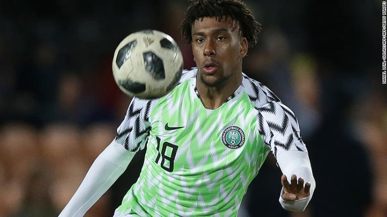 Alex Iwobi: Nigeria star confident ahead of World Cup ...