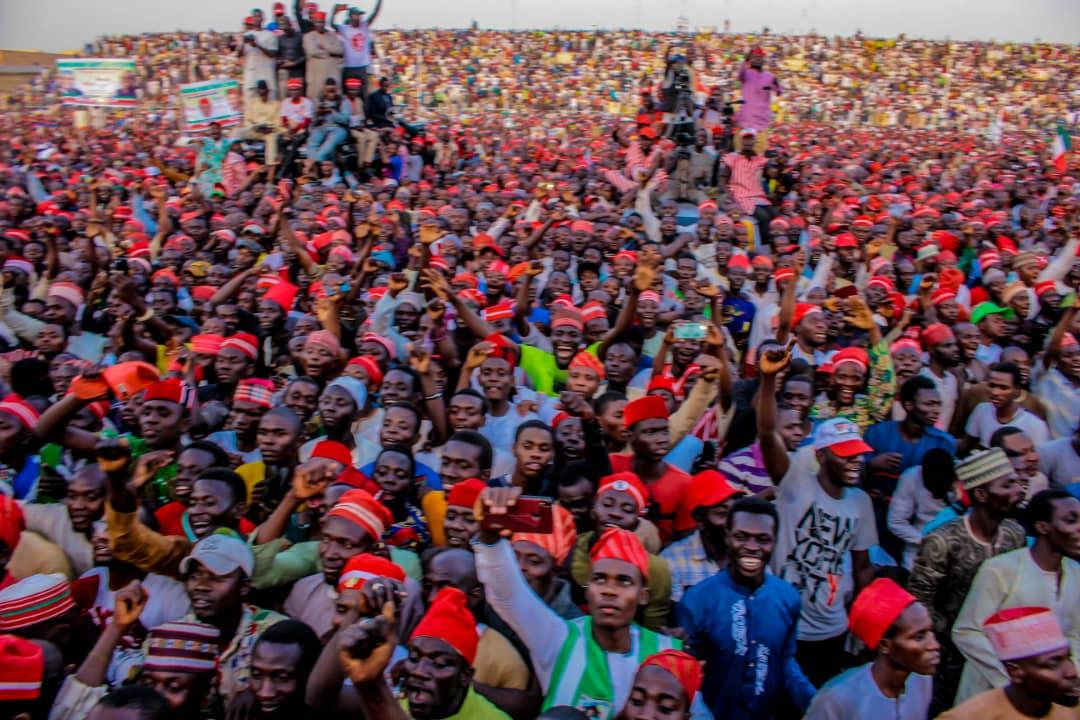 Atiku In Kano: Kano Rally, Evidence Buhari Has Lost To Atiku, Says PDP